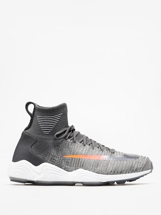 Topánky Nike Zoom Mercurial Hi Flyknit Fc (dark grey/dark grey wolf grey)