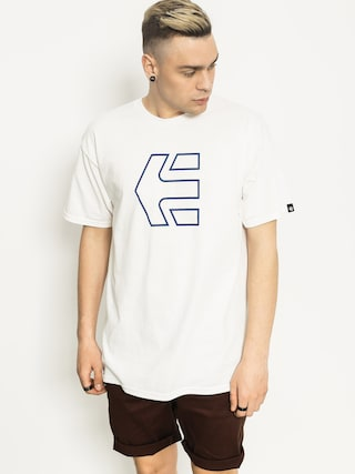 Tričko Etnies Icon Outline (white)