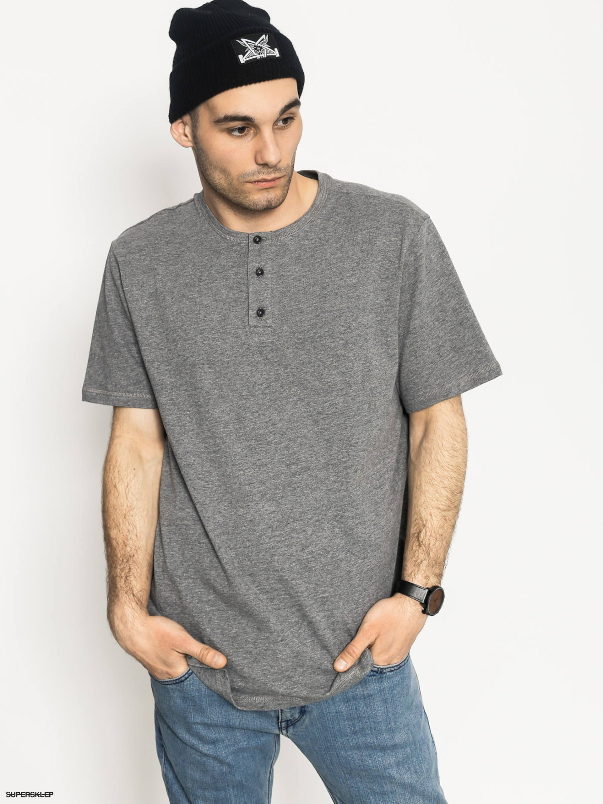 Tričko Element Basic Henley