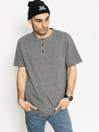 Tričko Element Basic Henley (grey heather)