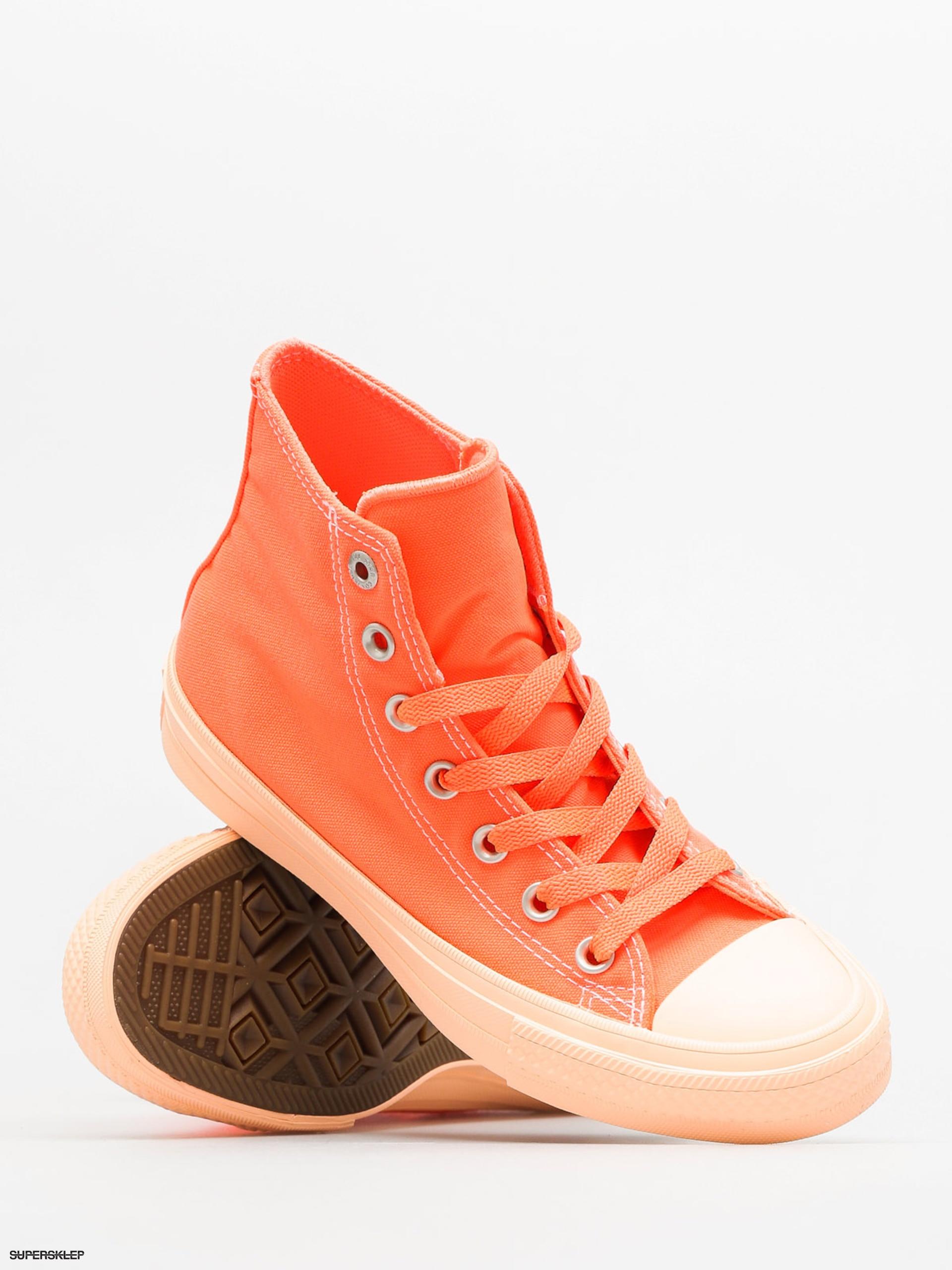 97dcb9545442 Tenisky Converse Chuck Taylor All Star II Hi (hyper orange sunset glow)