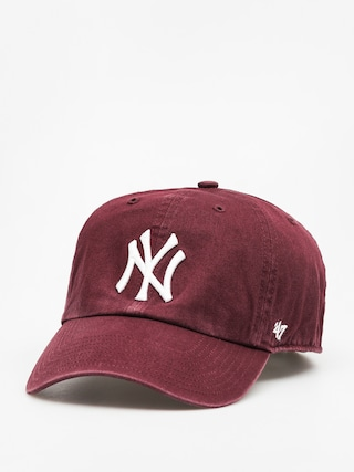 Šiltovka 47 Brand New York Yankees ZD (washed maroon)