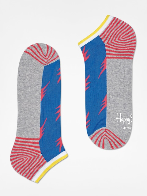 Happy Socks Ponožky Athletic Flash Low (grey/blue)