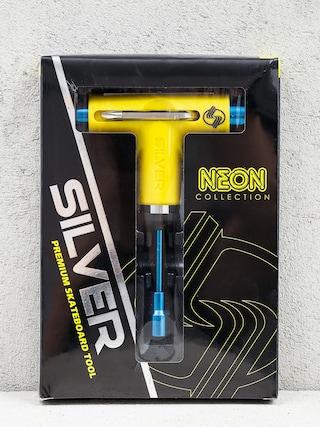 Ku013eu00fau010d Silver Tool Neon (yellow/blue)