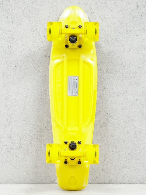 Cruiser Fish Skateboards 01 (yellow/yellow/yellow)