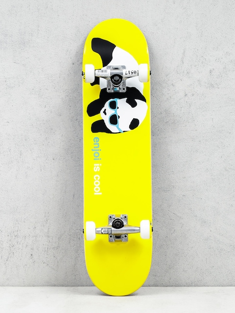 Enjoi Skateboard Panda Shades (yellow)