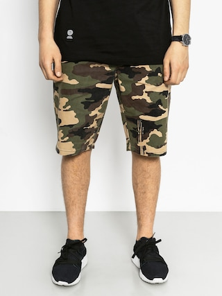 MassDnm Kraťasy Base Straight Fit (camo)