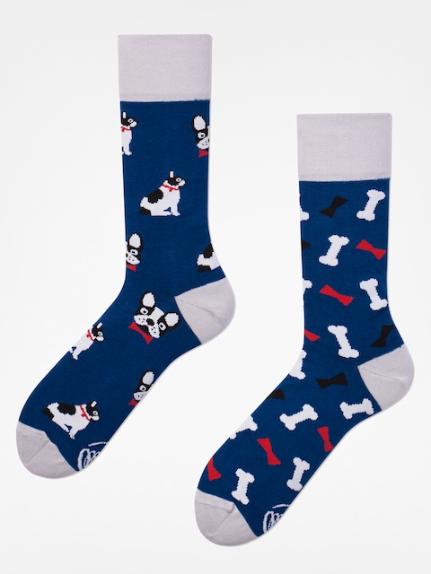 Many Mornings Ponožky Dog Affair (navy/silver)