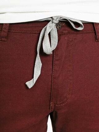 Nohavice Malita Stripes Slim (maroon)