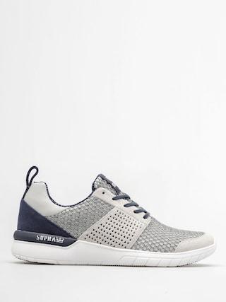 Supra Topánky Scissor (lt grey/navy white)