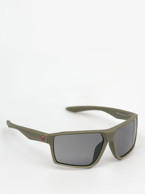 Dragon Slnečné okuliare Tenzig (matte dark olive/smoke)