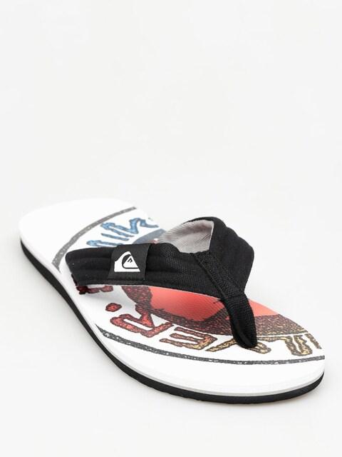 Quiksilver Plážovky Molokai Layback (white/black)