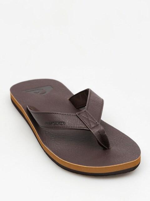 Quiksilver Plážovky Molokai Nubuck (all brown)