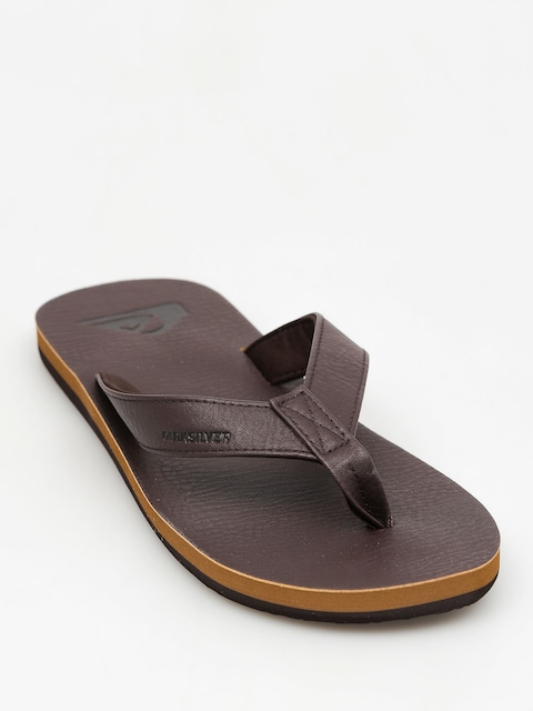Žabky Quiksilver Molokai Nubuck (all brown)