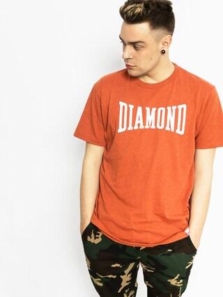 Tričko Diamond Supply Co. Crescendo (burnt orange)