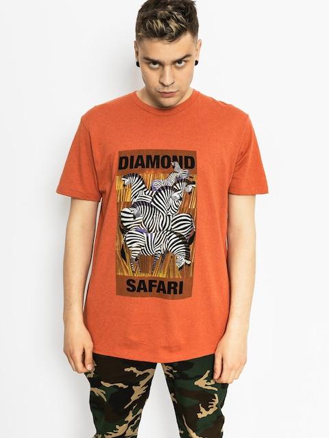 Tričko Diamond Supply Co. Safari