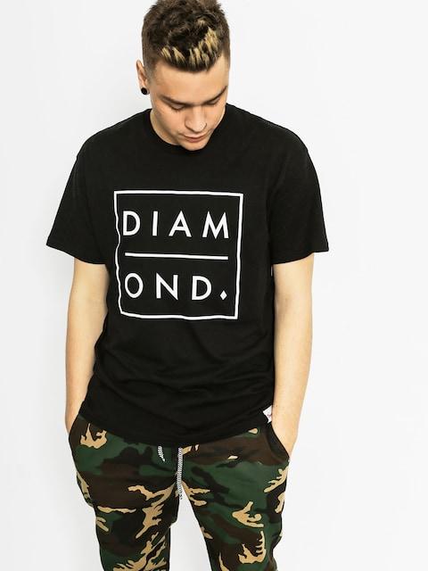 Diamond Supply Co. Tričko Outline (black)