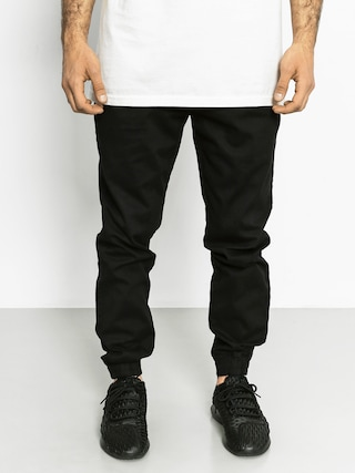 Nohavice Diamante Wear Jogger Ghost Town (black)
