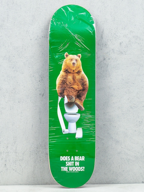 Grizzly Griptape Doska Skate Mental Upper er (green)