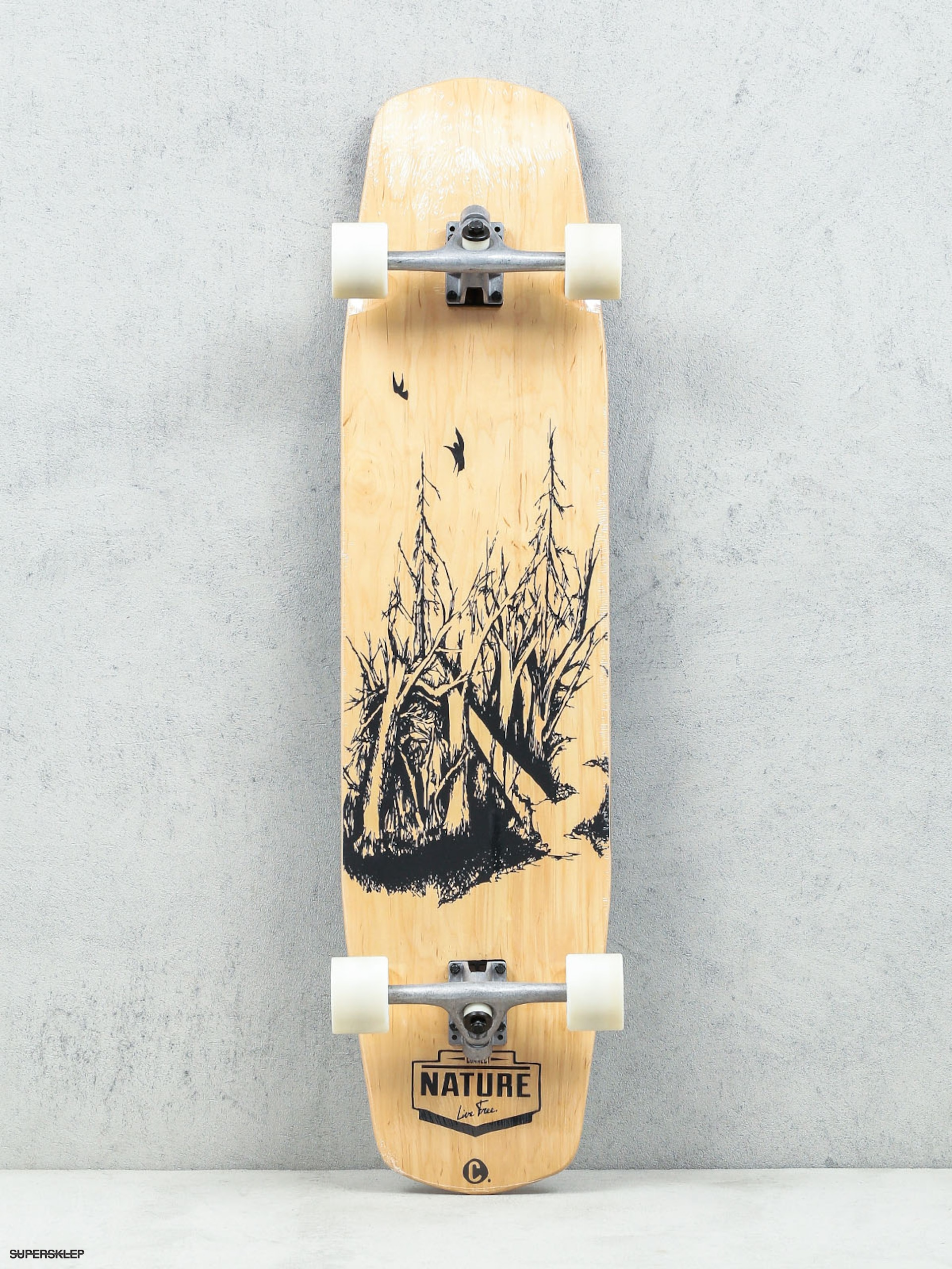 Choke Longboard Forest (wood)