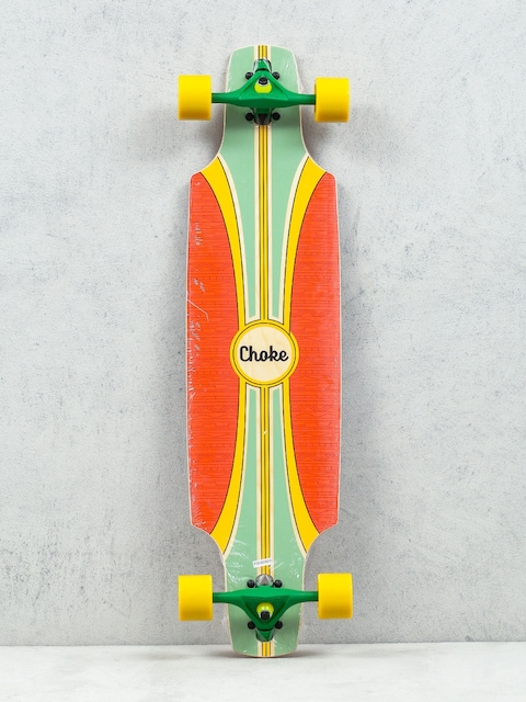 Choke Longboard Tracer Pro Dropthrough (green/red)