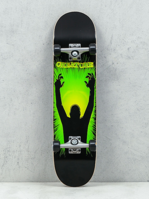 Skateboard Creature The Thing (black/green/yellow)
