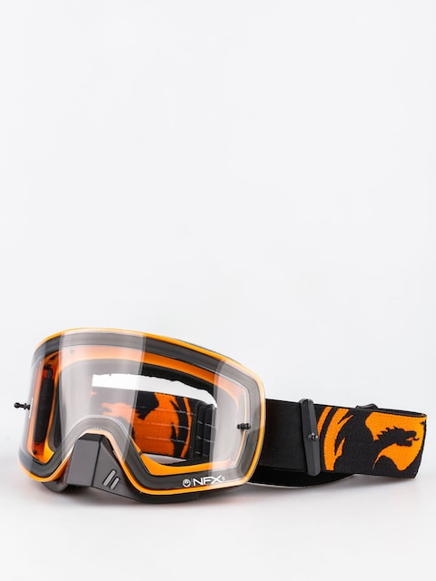 Dragon Cross okuliare NFXs (black orange splkit/clear)