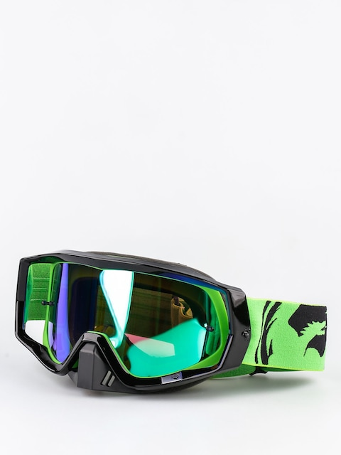 Dragon Cross okuliare Vendetta (green black split/green ion)