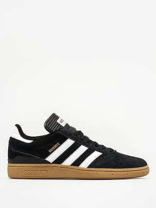 Topu00e1nky adidas Busenitz (black1/runwht/metgol)