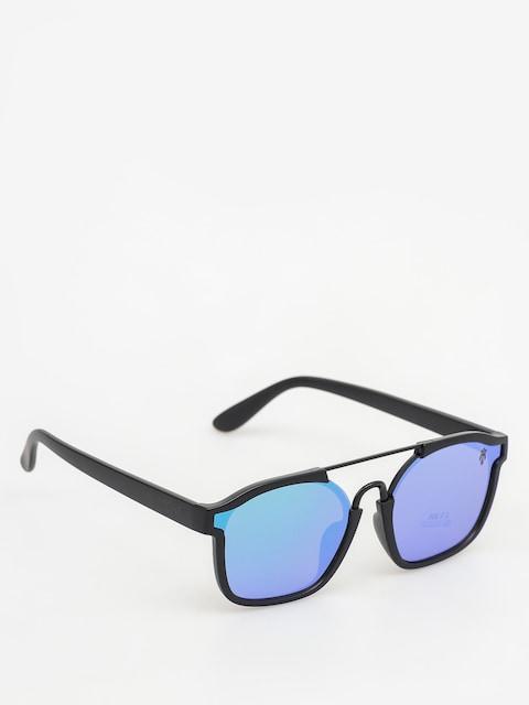 Slnečné okuliare Majesty Wire (matt black/green emerald lens)