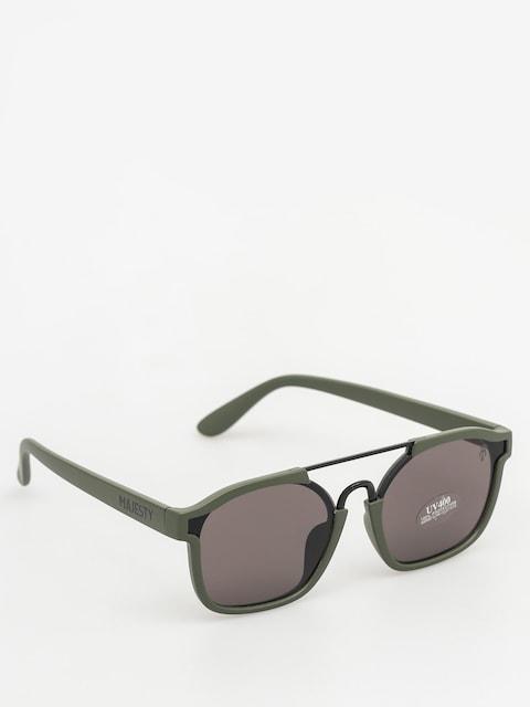 Majesty Slnečné okuliare Wire (matt army green/black pearl lens)