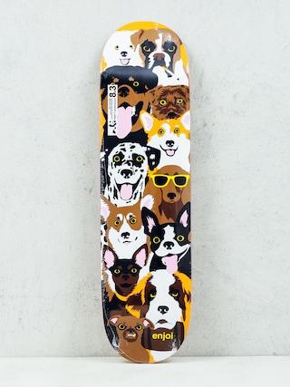 Doska Enjoi Dog Coleage R7 (brown)