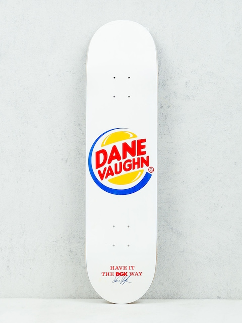 Doska DGK Vaughn Cease & Desist (white)