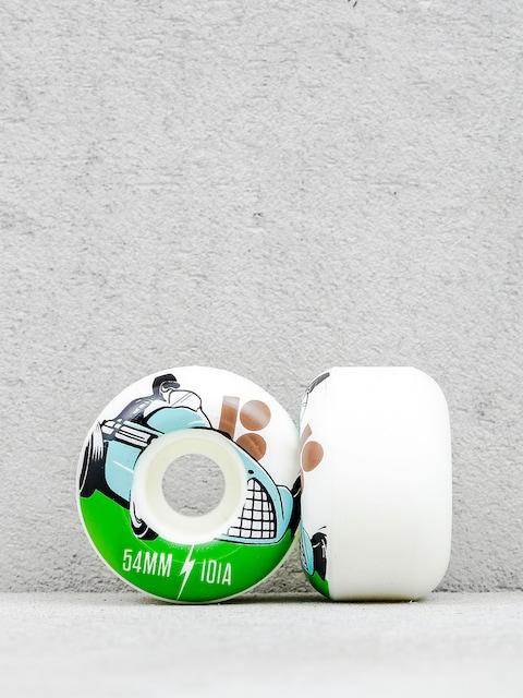Kolieska Plan B Racer (white/green)