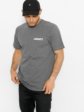 Triu010dko Carhartt College Script (dark grey heather/white)