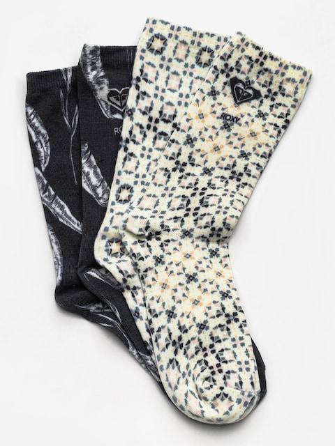 Ponožky Roxy Mid Calf Wmn (anthracite)