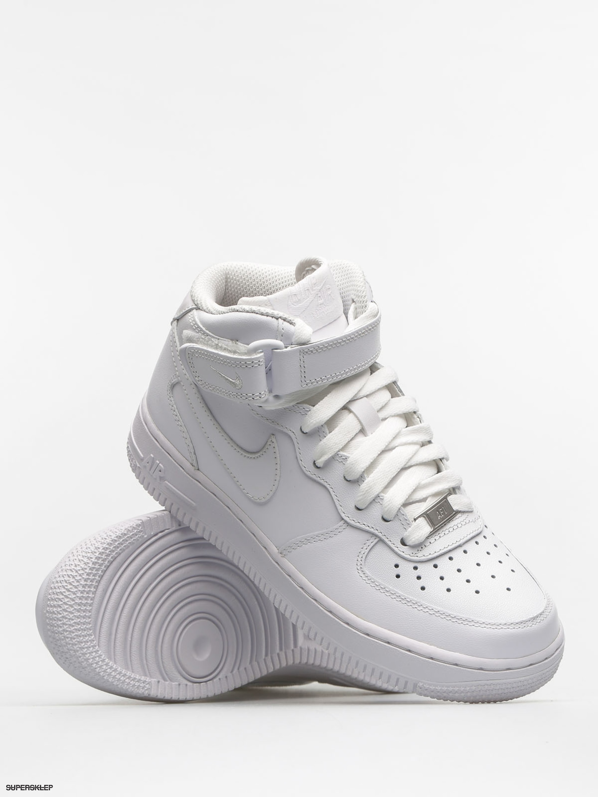 b354b62dc2 Topánky Nike Air Max Force 1 Mid 07 Le Wmn (white white)