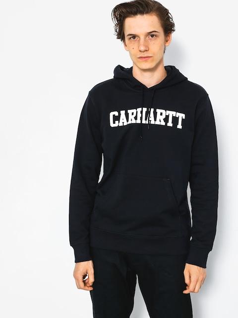 Mikina s kapucňou Carhartt College HD (dark navy/white)
