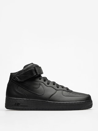 Topu00e1nky Nike Air Force 1 Mid 07 (black/black black)
