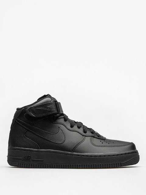 Topánky Nike Air Force 1 Mid 07 Le Wmn (black/black)
