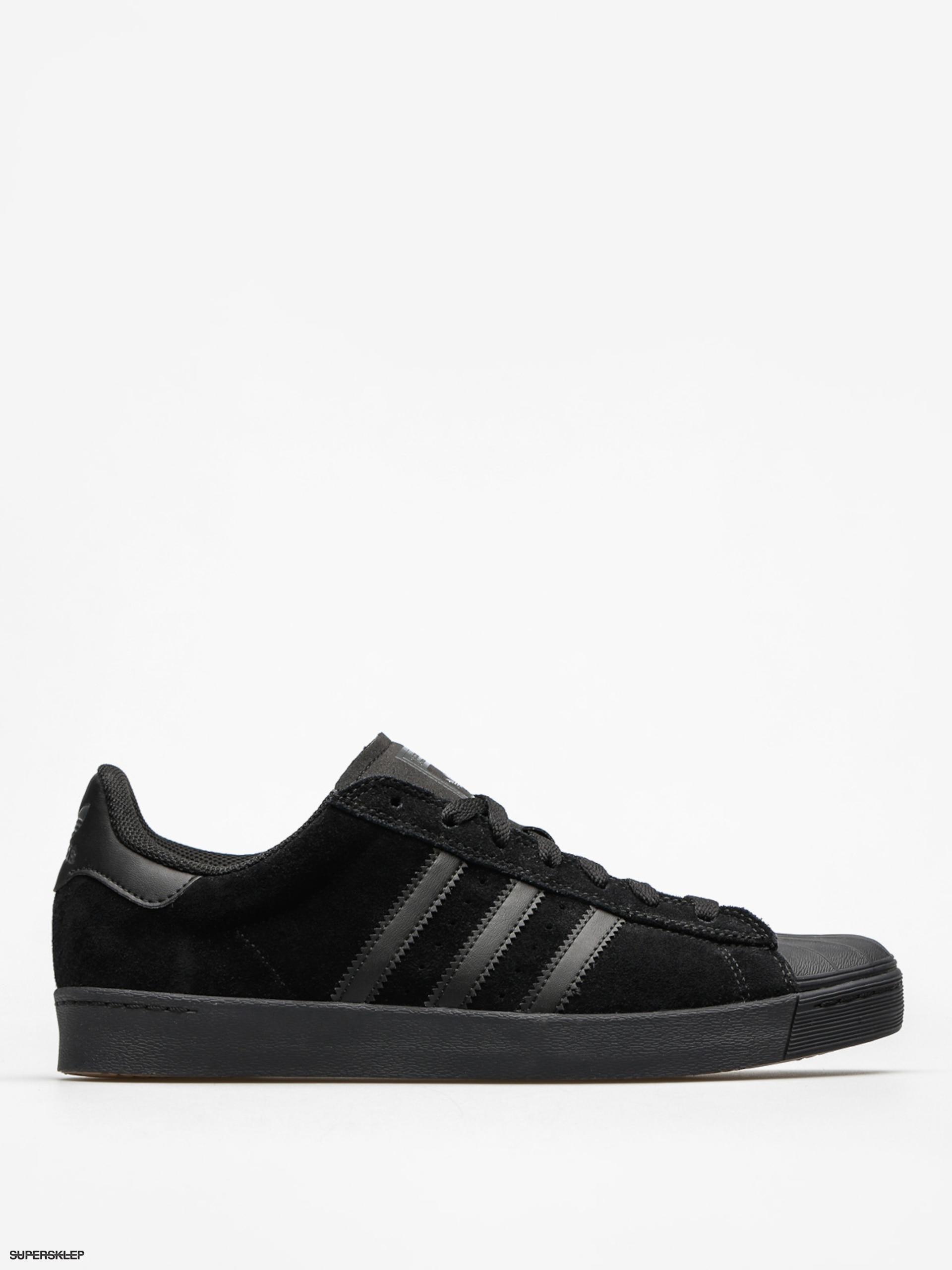 a56761fa71 Topánky adidas Superstar Vulc Adv (core black core black core black)