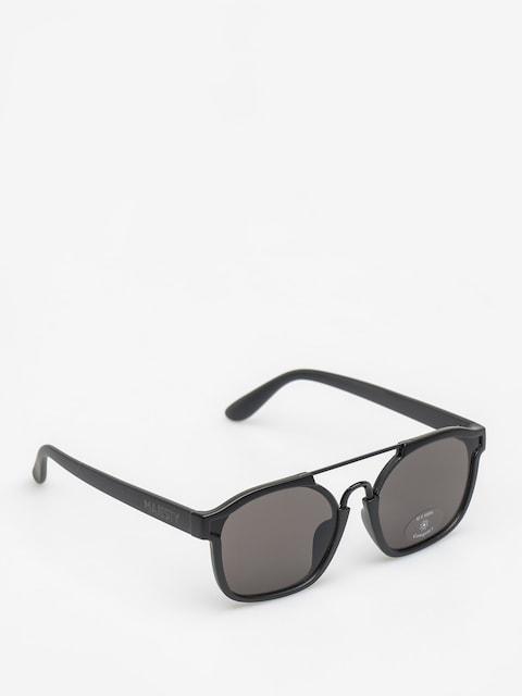 Slnečné okuliare Majesty Wire (matt black/black pearl lens)