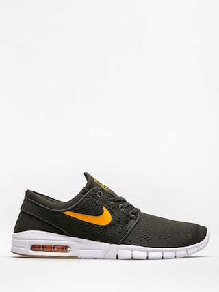 Topánky Nike SB Stefan Janoski Max (sequoia/circuit orange gum light brown)