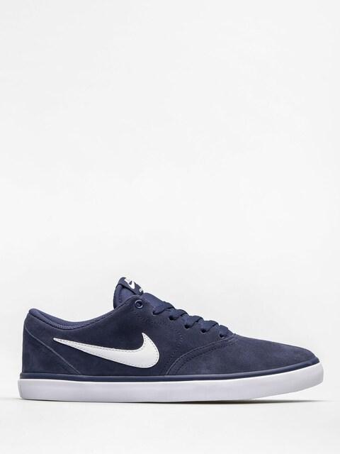 Topánky Nike SB Check Solar (midnight navy/white)