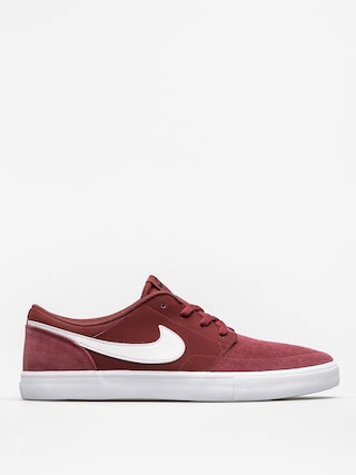 Topánky Nike SB Solarsoft Portmore II (dark team red/white black white)
