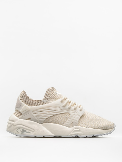 Topánky Puma Blaze Cage Evo Knit Wn S Wmn (marshmallow/safari/birch/whisper white)