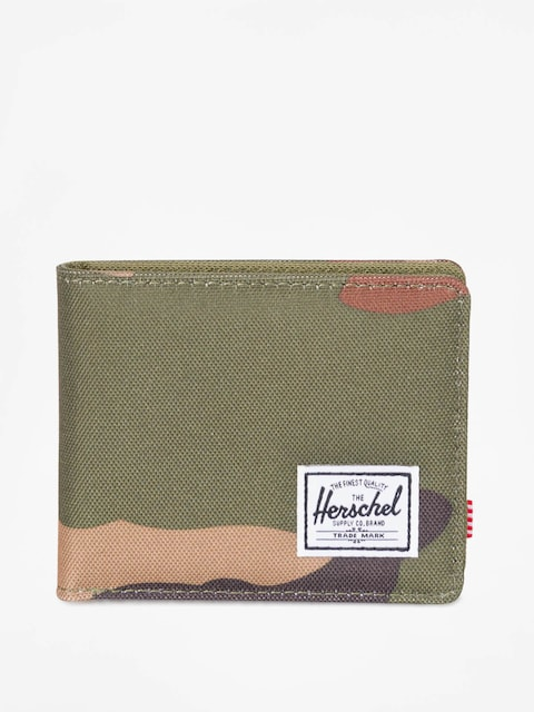 Peňaženka Herschel Supply Co. Roy Coin RFID (woodland camo/army)