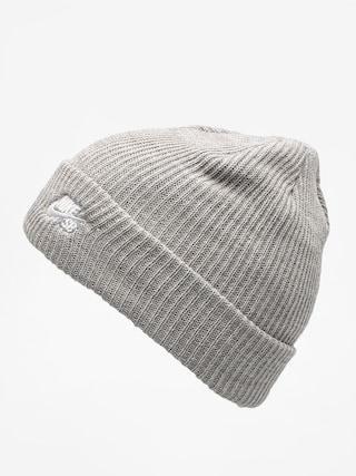 Čiapka Nike SB Sb Fisherman Beanie (dk grey heather/white)
