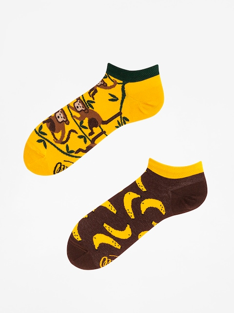 Ponožky Many Mornings Monkey Business Low (yellow/green/brown)