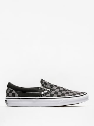 Topu00e1nky Vans Classic Slip On (black/pewter checkerboard)